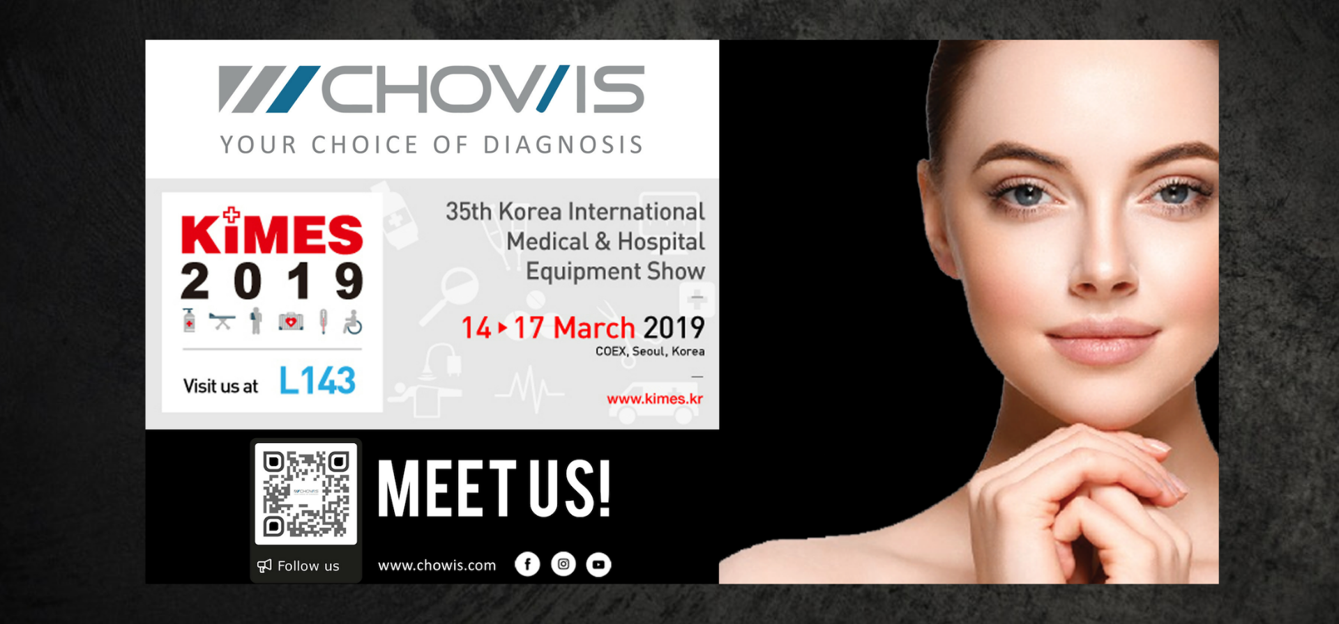 KIMES 2019 : Chowis Joins Korea's Largest Medical Equipment