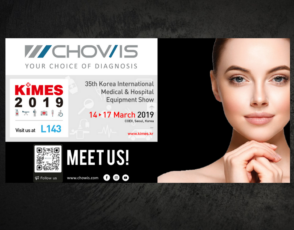 KIMES 2019 : Chowis Joins Korea's Largest Medical Equipment Show
