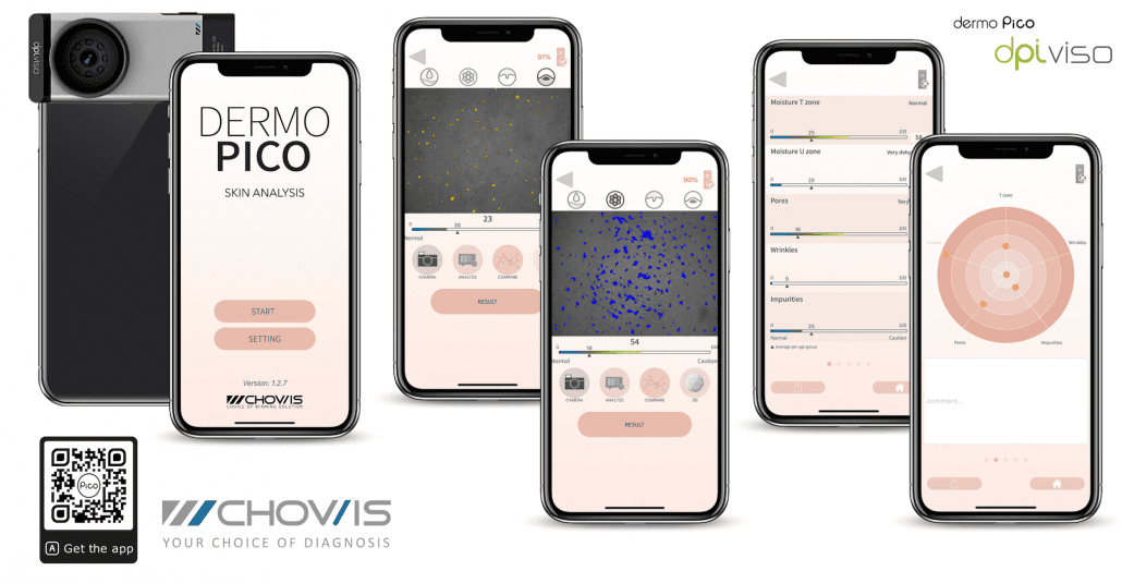 DPI PICO Mobile Skin Analyzer