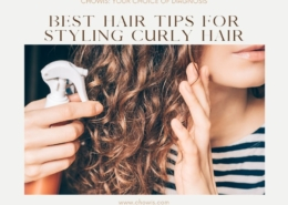 Best hair tips for styling curly hair